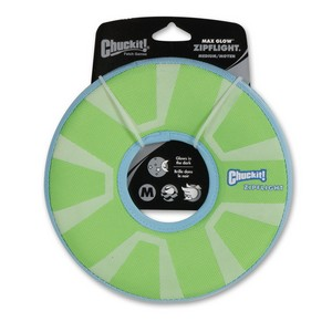 Chuckit Max Glow Zipflight Medium 21cm