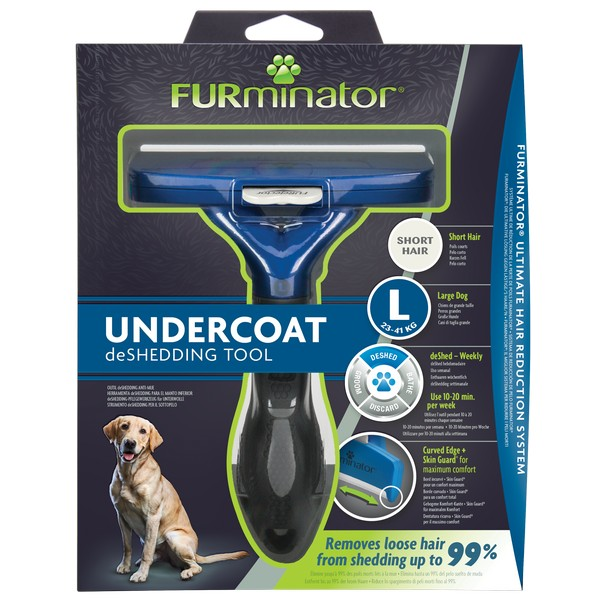 Furminator Grooming Rake for Cats and Dogs